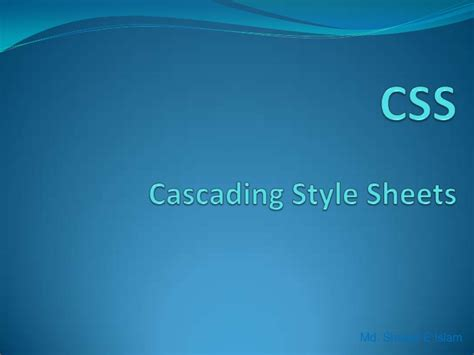 css tutorial ppt free download css tutorial