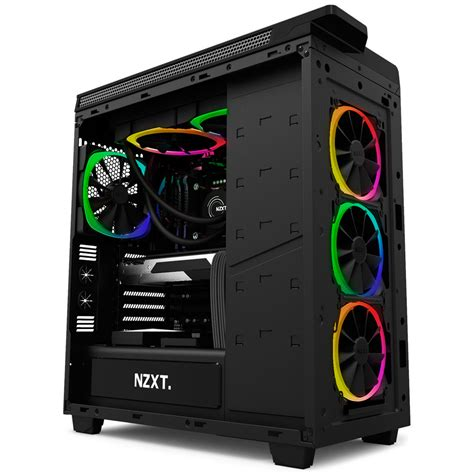 nzxt aer rgb fans nzxt aer rgb led 140mm fan rf ar140 b1 south africa