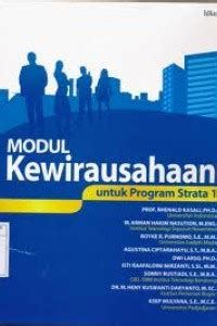 open library modul kewirausahaan  program strata