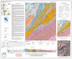 geologic map of carolina ncdenr geopdfs geologic maps