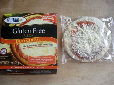product review glutino gluten free frozen pizzas gluten free portland