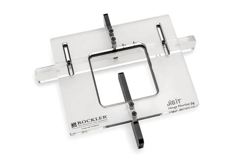 hinge mortising template rockler introduces hinge mortising jig simplifies