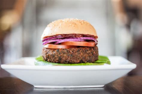 Handmade Burger - vegan friendly options at uk and u s chains the vegan