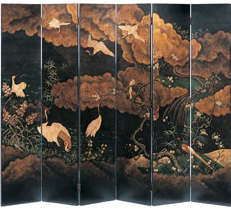 Partition Wall by Folding Screens And Japanese Folding Screens