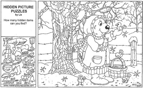 printable winter hidden picture puzzles search results for hidden picture winter printable