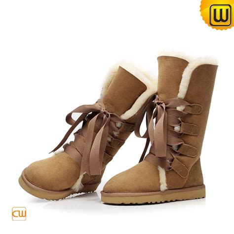 womens shearling snow boots cw314403