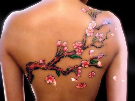 cherry blossom back tattoo designs 60 cherry blossoms designs and ideas for