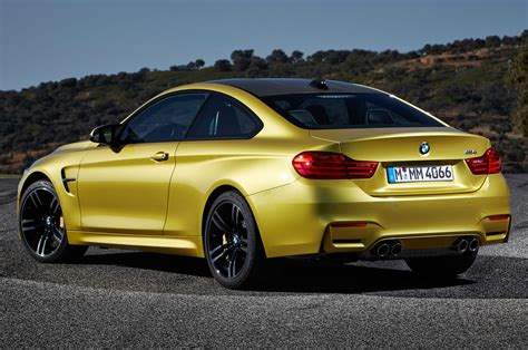 bmw m4 2015 bmw m4 coupe features and performance announced