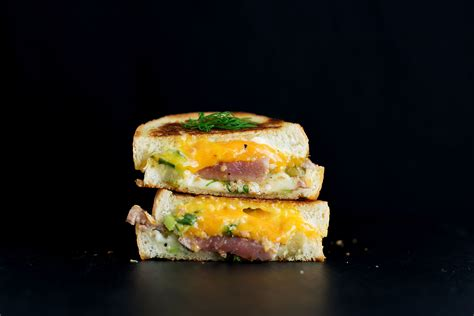 the seared tuna melt grilled cheese bs in the kitchen