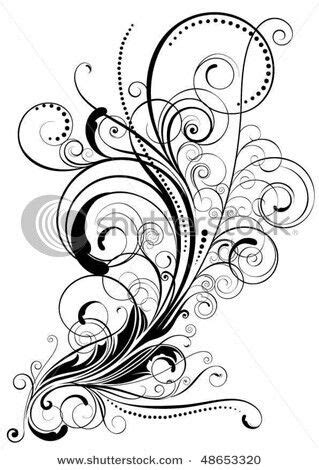 flower swirl tattoo designs swirl tattoos ribs other and foot