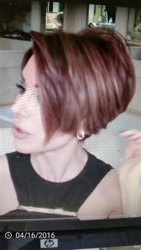 pixie haircut with wedge back 641 best hair styles for me or i like images on pinterest