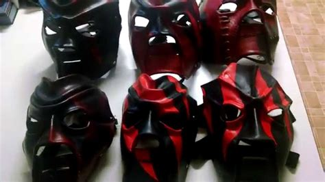 my kane mask collection youtube