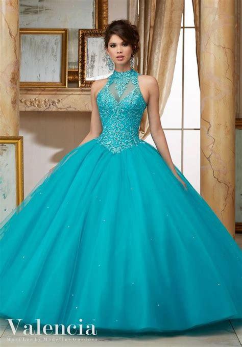 33 vestidos xv anos color aqua 32 ideas para fiestas