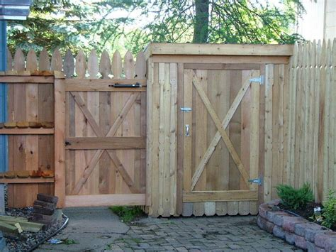 Shed Fence our fence storage shed combination by barb cain homerefurbers home
