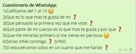 preguntas para mi novia picantes cuestionario atrevido de whatsapp juegos para whatsapp