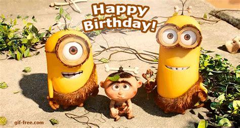 imagenes de minions happy birthday happy birthday from minions
