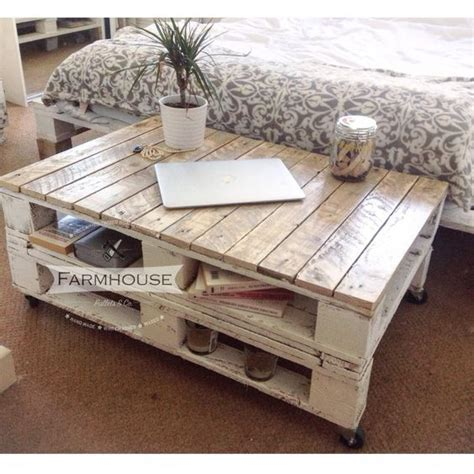 Coffee Table Upcycled Pallet Coffee Table Reclaimed Upcycled Industrial Farmhousestyle Living Room Pallet