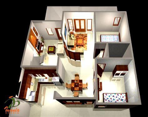 layout rumah 2 kamar desain interior rumah mungil http