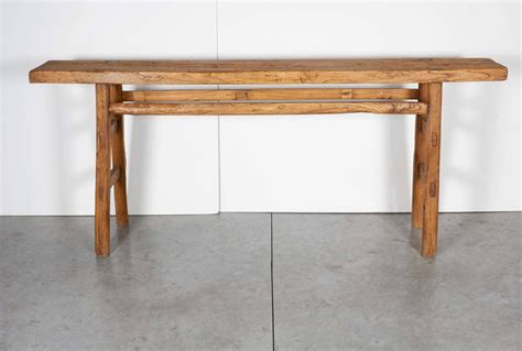 very narrow sofa table very narrow antique farm table at 1stdibs