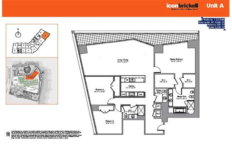 icon brickell floor plans icon brickell miami beach condo one sotheby s