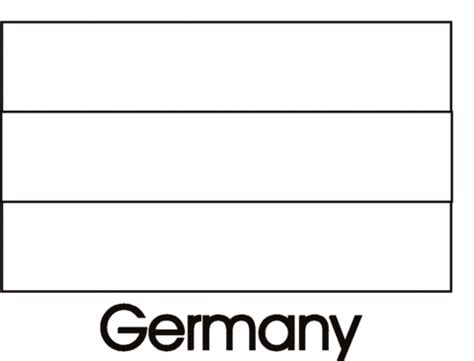 germany flag coloring page supercoloring com