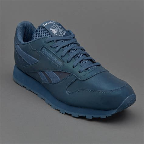 Sepatu Sneaker Leather sepatu sneakers reebok original cl leather prs brave blue