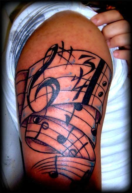 music staff tattoo designs this is my sons arm with his quot amazing grace quot tatt we