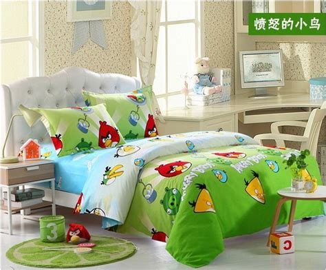 Angry Birds Bed Set Angry Birds Green Style3 Angry Birds Bedding Set Angry Birds Bedding Angry Birds