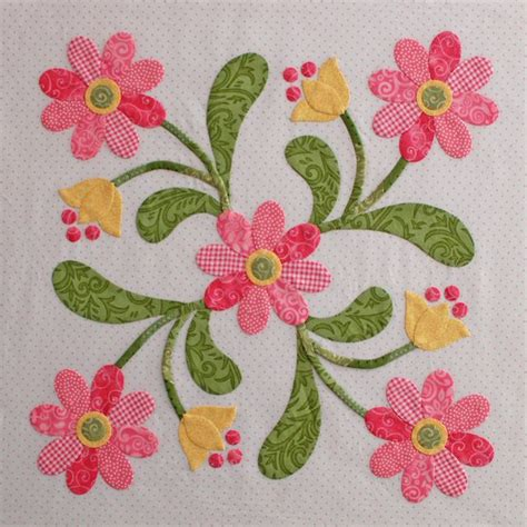 applique quilt patterns beautiful design colors pattern and tutorial quilt