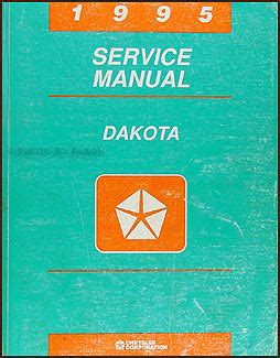 1993 dodge dakota repair shop manual original 1995 dodge dakota repair shop manual original