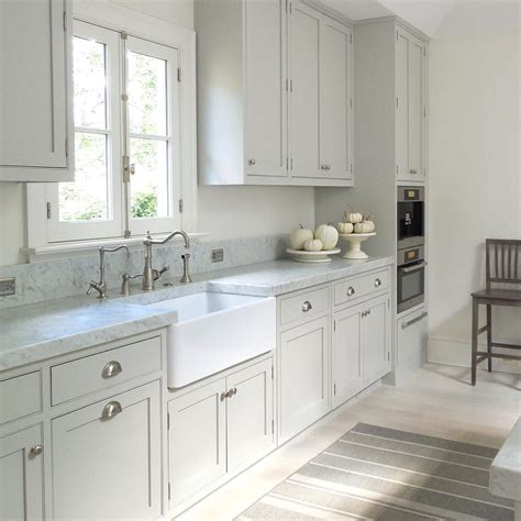 light gray kitchen cabinets kitchen plan light gray cabinets farm house sink same