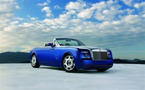 rolls royce phantom drophead coupe blue 1440 x 900