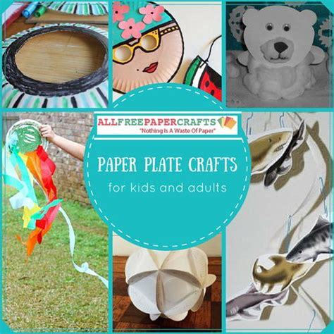 Printable Paper Crafts For Adults - 13 paper plate crafts for and adults