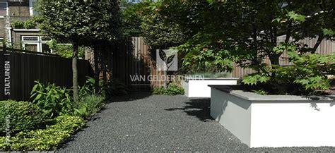 Tuinen Met Grind by Moderne Strakke Stadstuin Bij Jaren 30 Woning Gelder