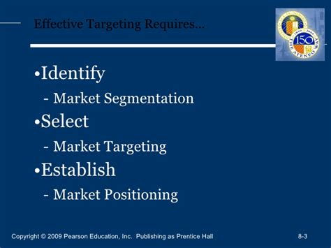 Market Segmentation Targeting And Positioning Mba Notes by Andal 042410 Agsb Batch 8 Mkt 640 Kotler Mm 13e Basic 08