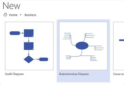 visio brainstorming five great tools for brainstorming diagrams in