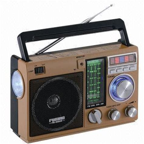 Home Mini Player Rx 198 With Led Torch Led Light Best Technologi fm am sw1 2 4 band portable radio with usb sd player global sources