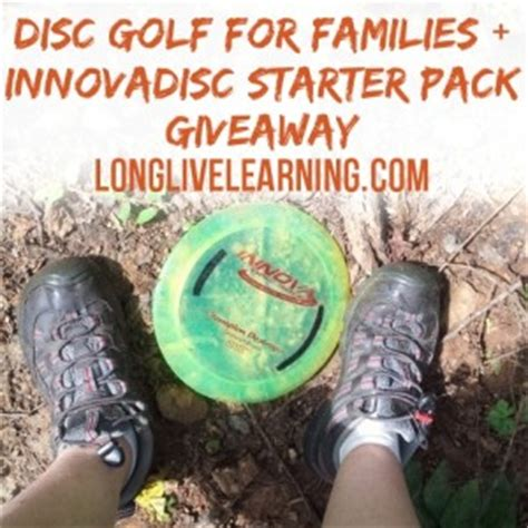 Disc Golf Giveaway - disc golf for family fun bonding nature connection innovadiscs giveaway