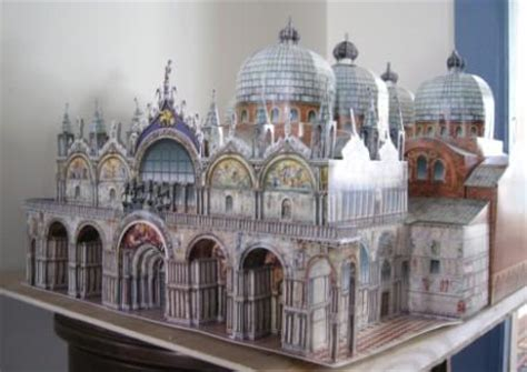 Italian Cathedral Paper Models