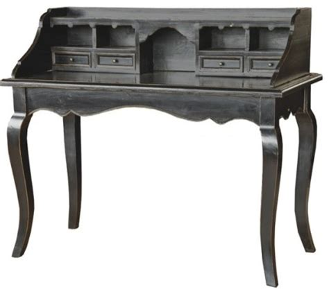 vintage desk black vintage style writting desk traditional desks