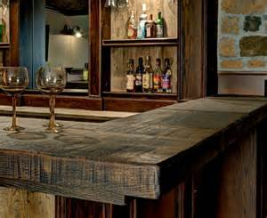 Top Bar Designs by Baroque Bar Top Rustic Basement