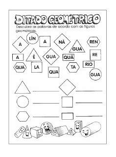 Ditado Geométrico | Atividades Educativas