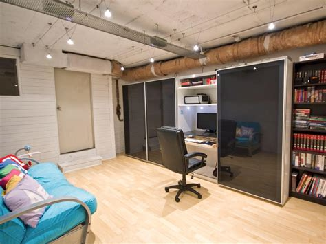 office space basement 14 smart design ideas for underused basements hgtv s