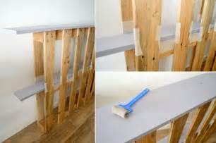 faire une tete de lit avec une planche en bois tete de lit en planche de coffrage maison design nazpo
