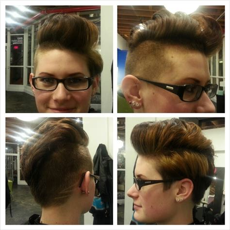 woman cuts hair with fork and clippers womens clipper cuts short hairstyle 2013