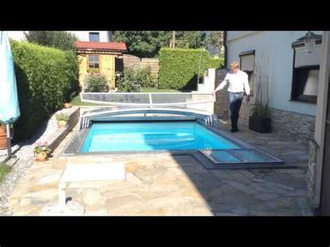 kleine pools für den garten pool 220 berdachung f 252 r kleinen garten