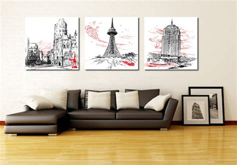 home decoration modern 3 piece wall decor pictures for aliexpress com buy 3 piece canvas art home decoration