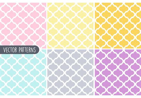 video on pattern pastel geometric vector pattern set download free vector
