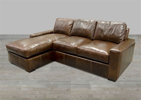 Leather Sectional Sofas With Chaise Lounge Fernwood Collection Fabric One Cushion Sofas