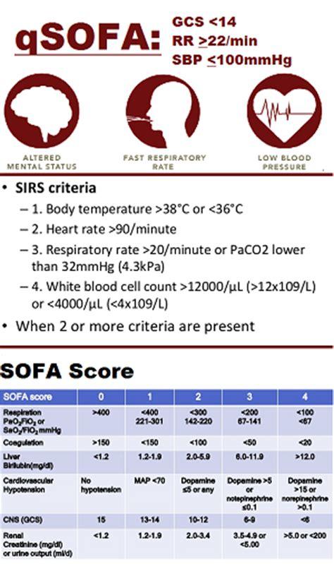 sofa sepsis sofa score sepsis sepsis etsu internal medicine etsuim